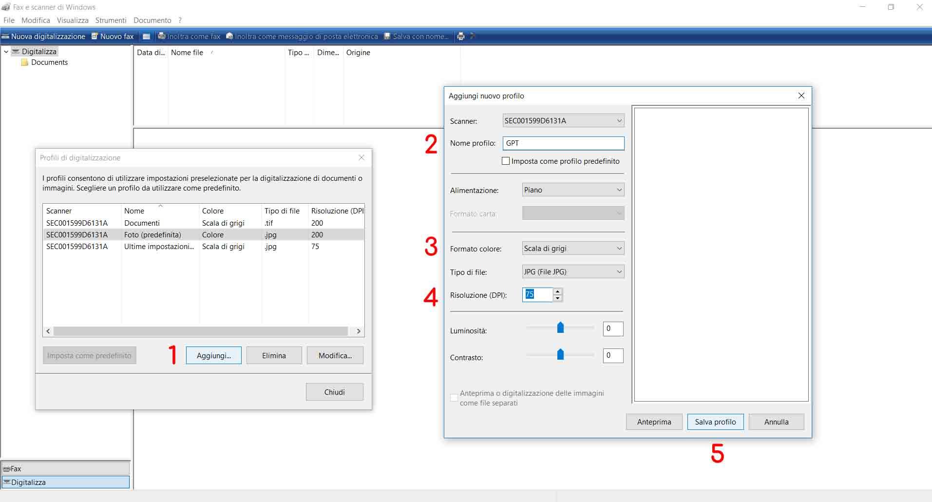Echo Sistemi, tutorial su come creare dei file PDF. impostazioni iniziali