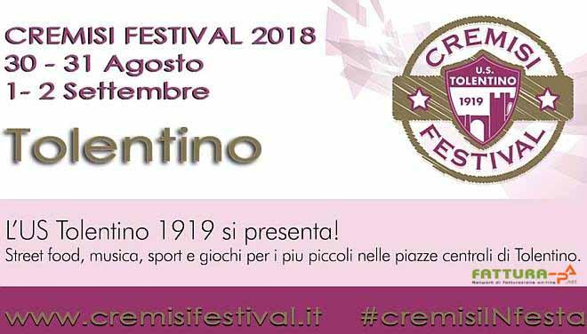 Echo Sistemi, locandina del Cremisi Festival 2018